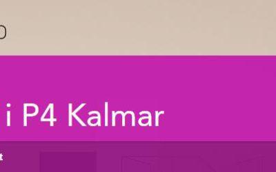 Intervju i P4 Kalmar!